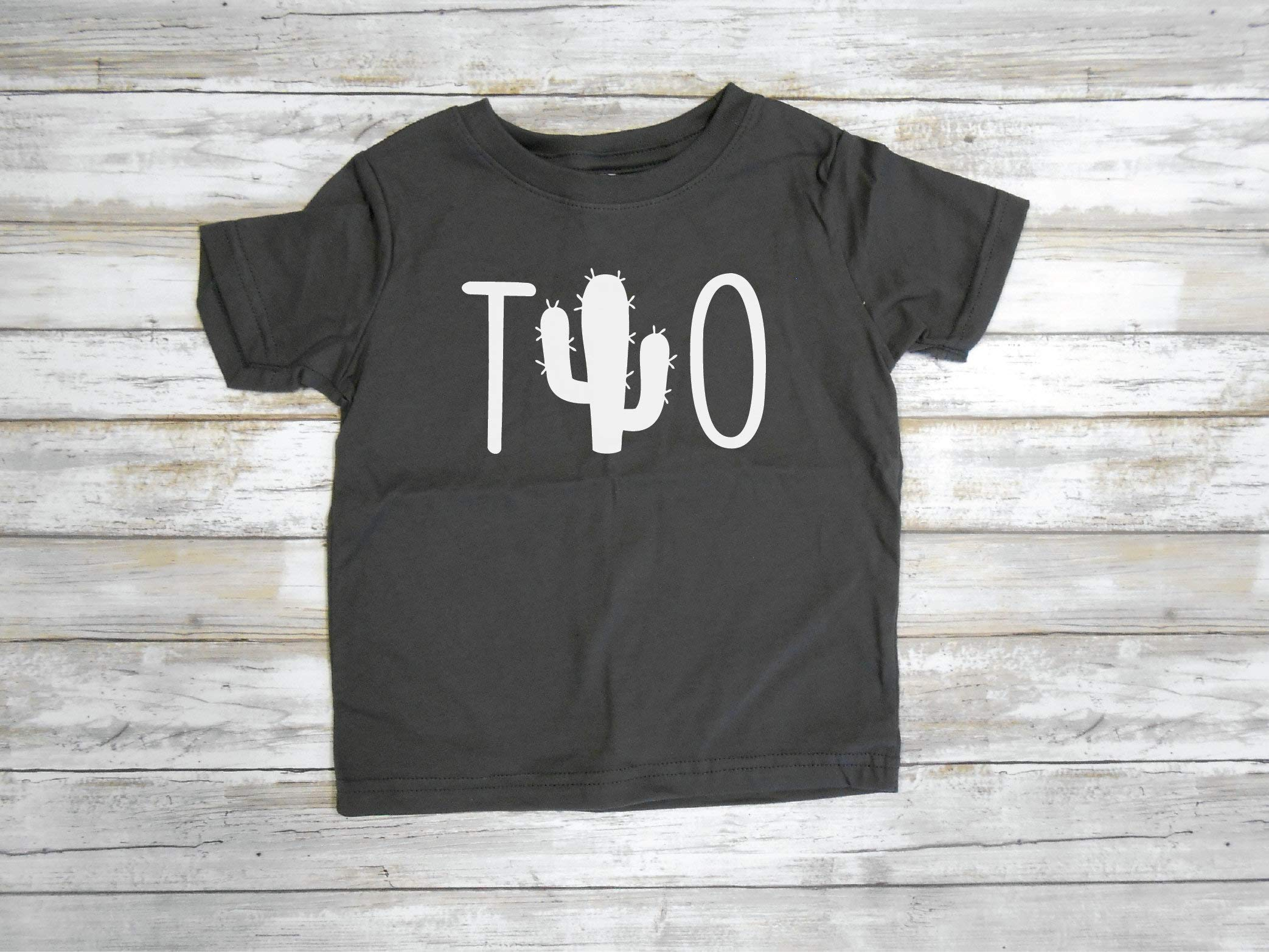 Two Cactus Shirt, Dos Birthday Shirt, Second Birthday, Cactus Birthday Party Tee, Second Birthday Party Outfit, Toddler Tee, Two Shirt