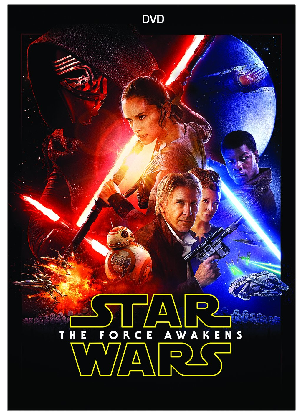 Amazon.com: Star Wars: The Force Awakens: Harrison Ford, Mark Hamill,  Carrie Fisher, Adam Driver, Daisy Ridley, John Boyega, Oscar Isaac, Lupita  Nyongu0027o, ...