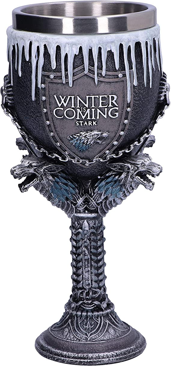 Copa Casa Stark Juego de Tronos Deluxe: Amazon.es: Juguetes y juegos