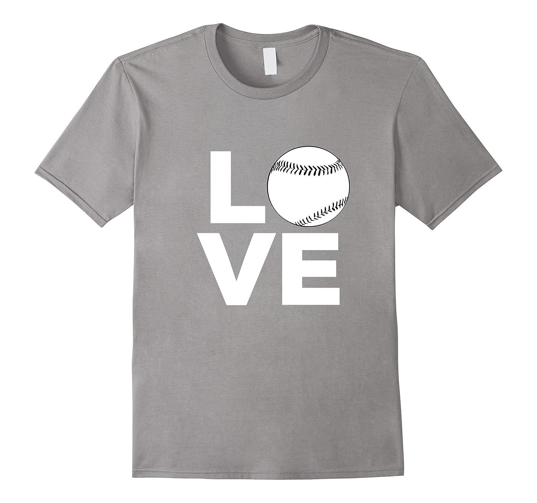 Baseball Softball Love T-Shirt-CD