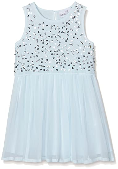 Eisend Girl's Hailey Dress, Türkis (Ice Blue 61), 3 Years