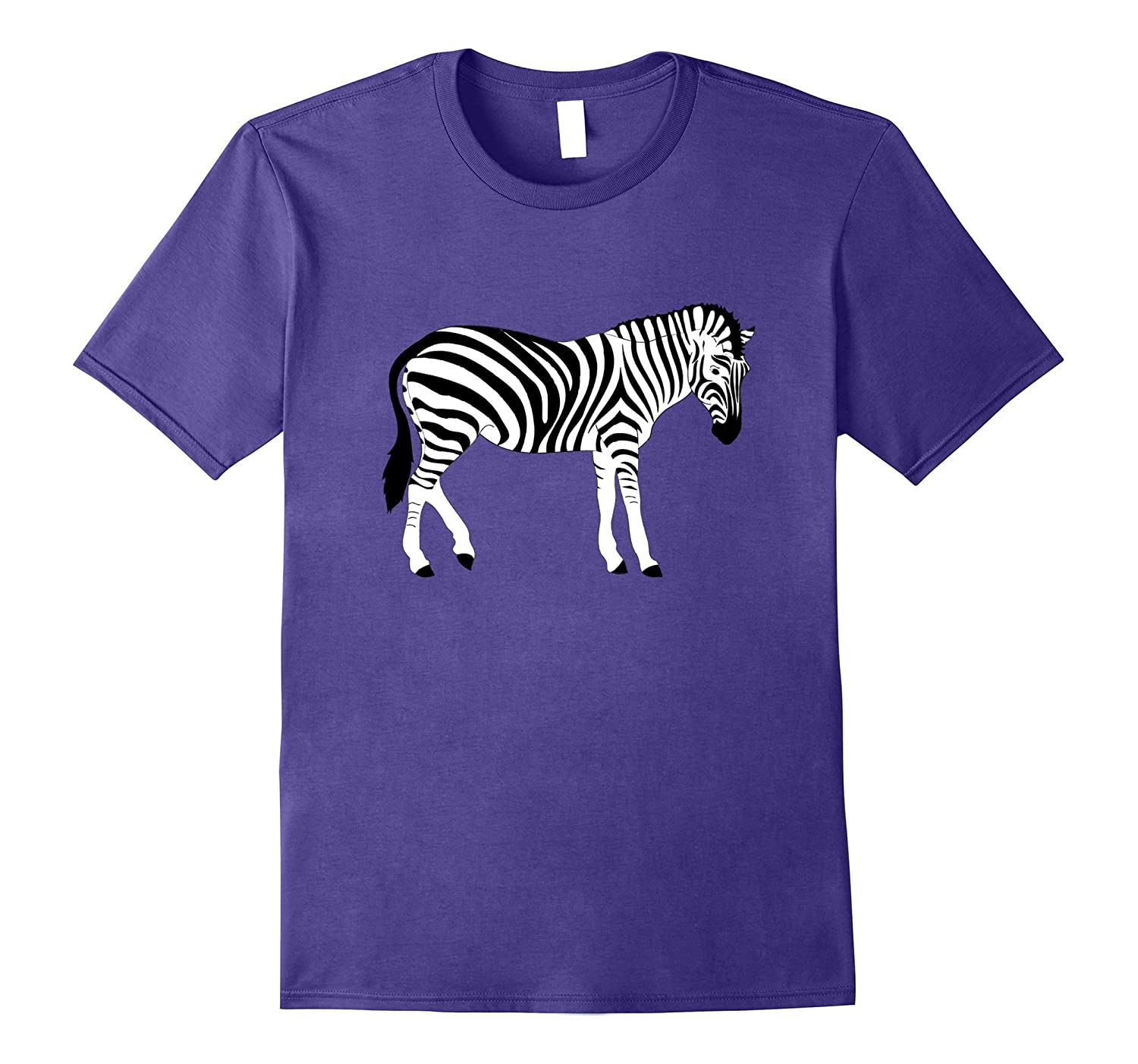 Zebra T Shirt Love Wild Animal Stripes Safari Jungle Warrior-TH