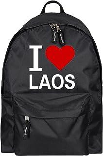 Sac à dos classic i love laos noir