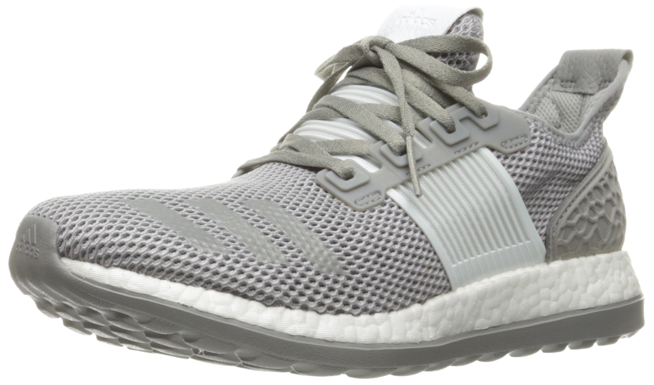 usa cheap sale cheap nice cheap Adidas Men's Pureboost ZG M Running Shoe, Crystal White/Solid Grey ...