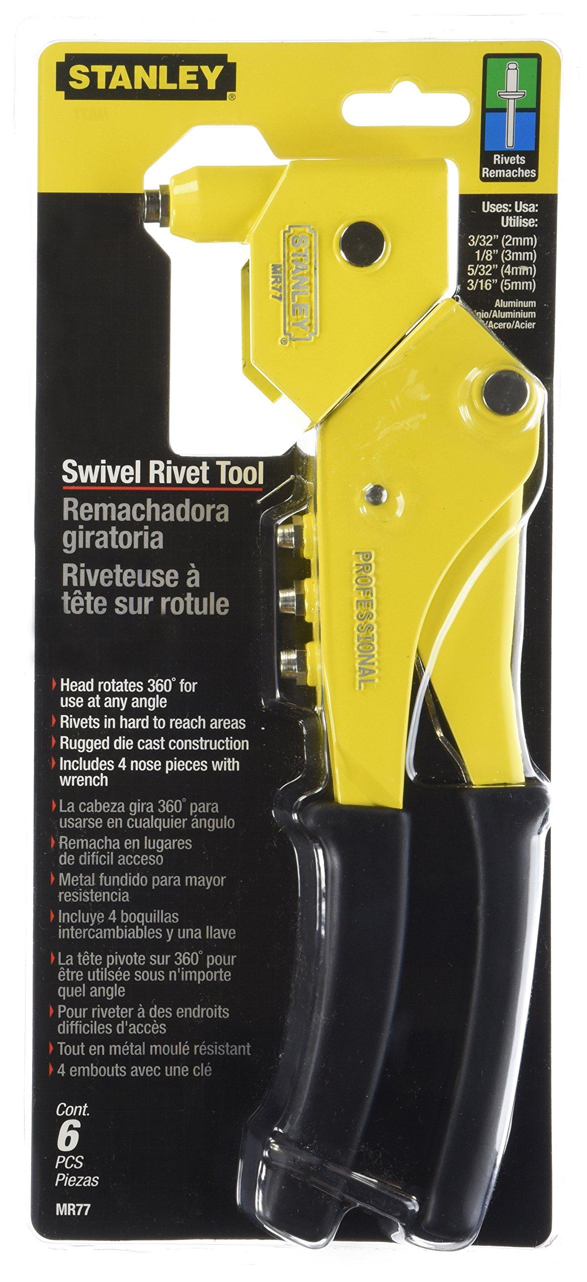 Stanley MR77C Swivel Head Riveter