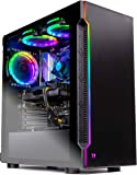 SkyTech Shadow Gaming Computer PC Desktop – Intel Core i5 9400F 2,9GHz, GTX 1660 6G, 500GB SSD, 8GB DDR4 3000MHz, RGB Fans, Windows 10 Home 64-bit, 802.11AC Wi-Fi