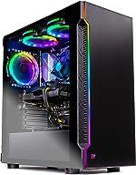 SkyTech Shadow Gaming Computer PC Desktop – Intel Core i5 9400F