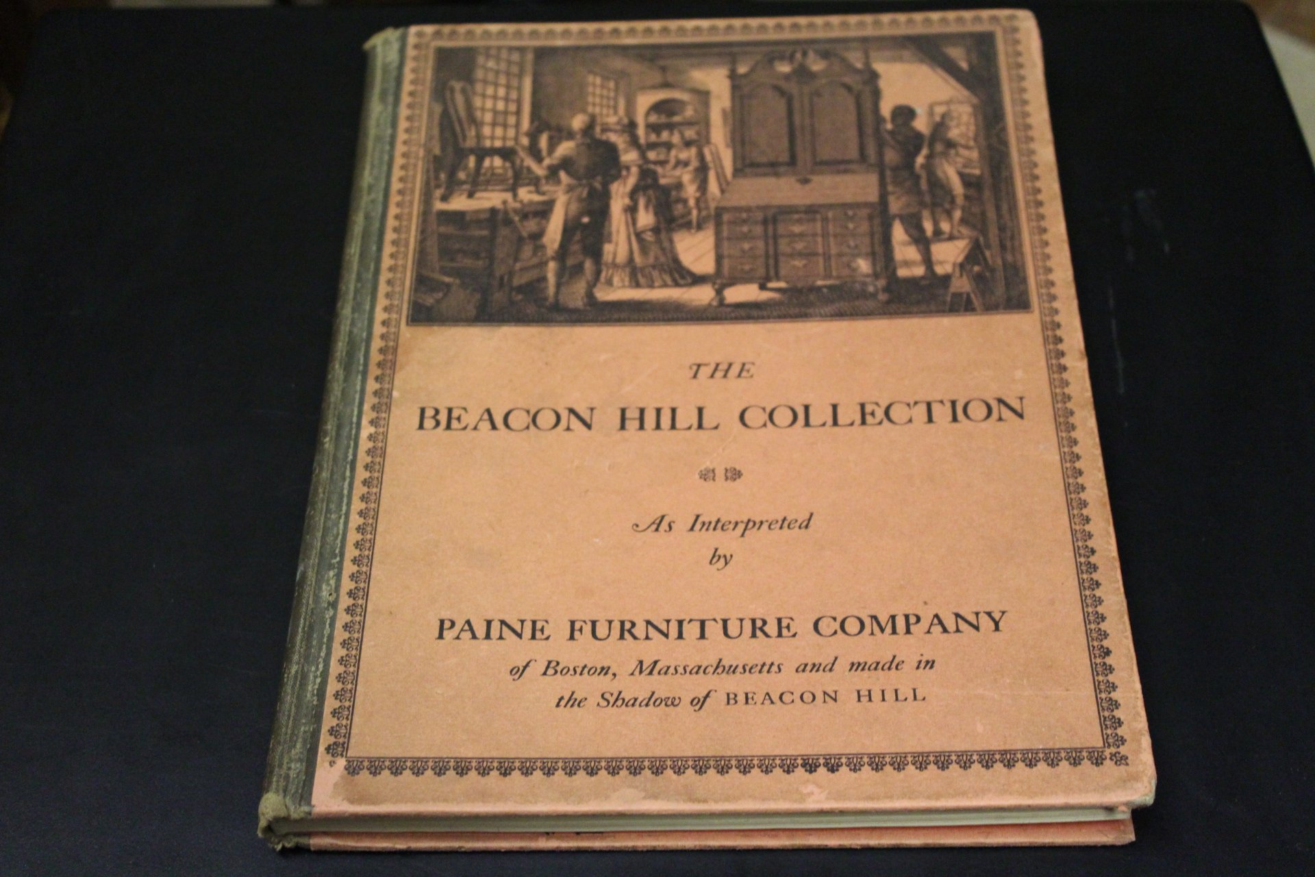 The Beacon Hill Collection As Interpreted By Paine Furniture Company Of  Boston, Massachusettes And Made In The Shadow Of Beacon Hill: Paine  Furniture ...