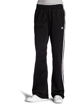 adidas 3 stripe pants. adidas women\u0027s 3-stripes pant, black/white, 3x-large 3 stripe pants a