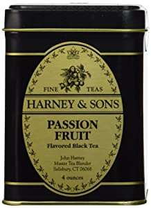 Harney & Sons Passion Fruit Loose Tea, Passion Fruit, 4 Ounce