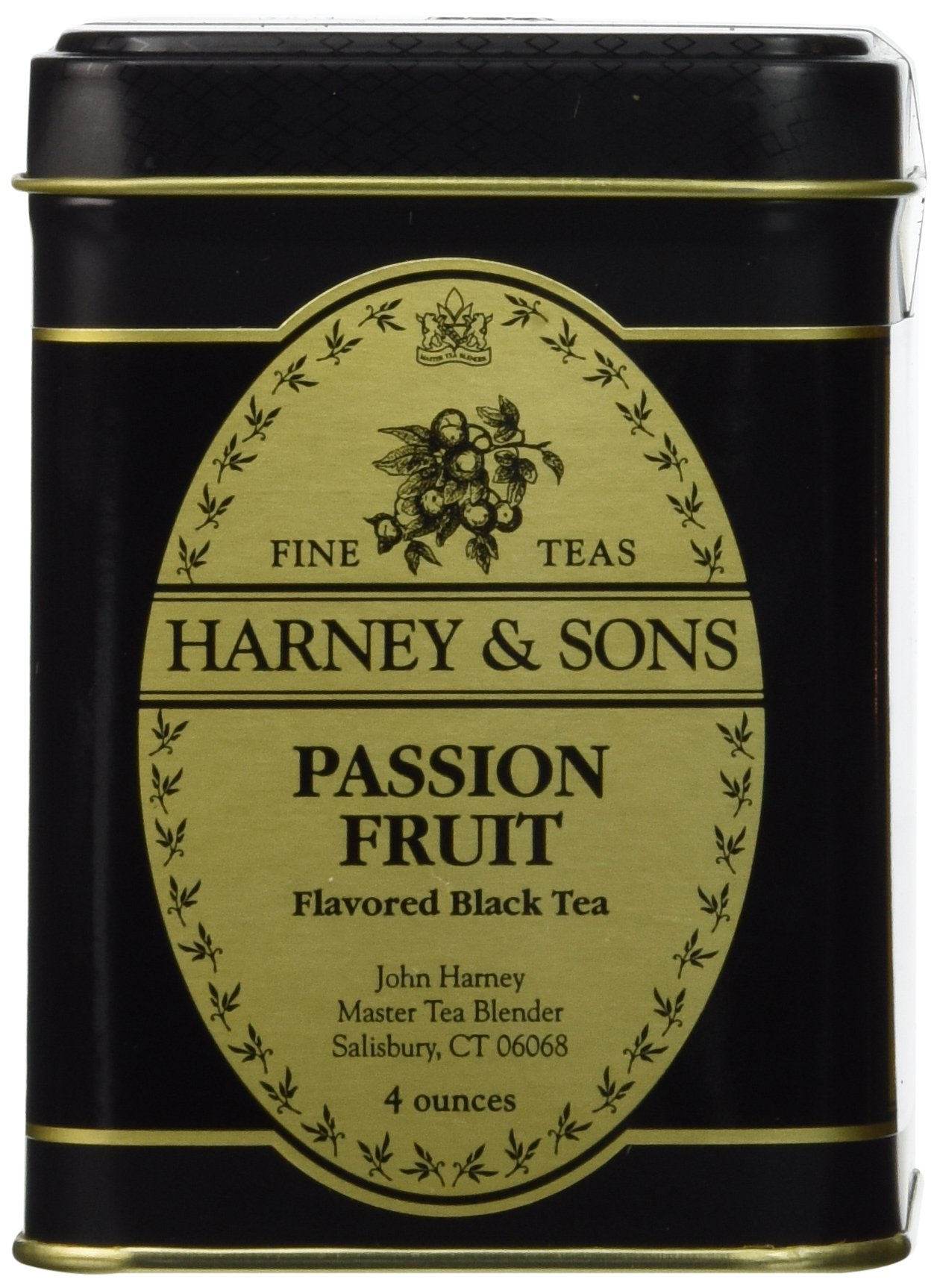 Harney & Sons Passion Fruit Loose Leaf Tea, 4 Ounce by Harney & Sons (Image #1)