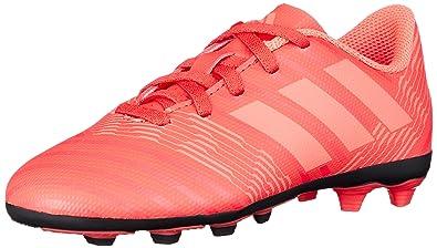 adidas Unisex-Kinder NEMEZIZ 17.4 Fxg Fußballschuhe, Rot (Reacor/Redzes/Cblack), 35 EU