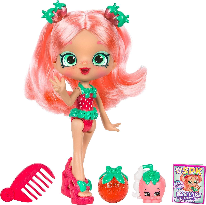 "5"" Shoppie Doll with Matching Shopkin & Accessories, Berri D'lish"