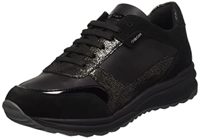 GEOX SNEAKERS DONNA NERO | 127898 | OutletScarpeOnline.it