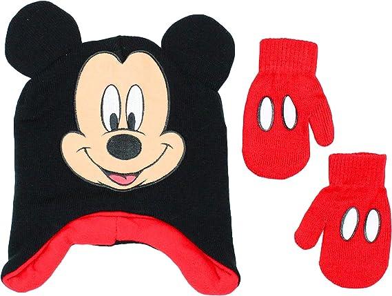 Color Rosa Gorro dise/ño de Mickey Mouse Disney