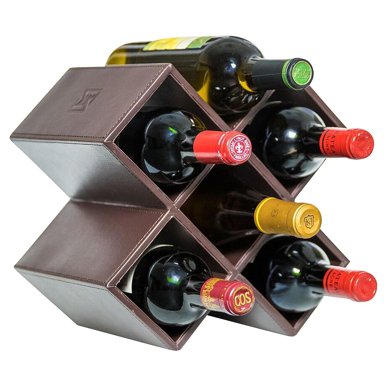Amazoncom Kaydian Koncepts Countertop Wine Rack 6 Bottle