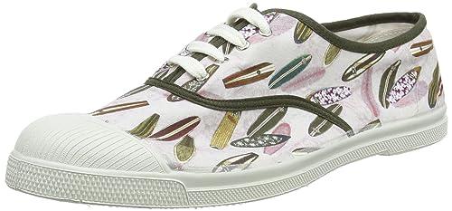 Bensimon Tennis Lacets Surf Prints, Zapatillas para Hombre: Amazon.es: Zapatos y complementos