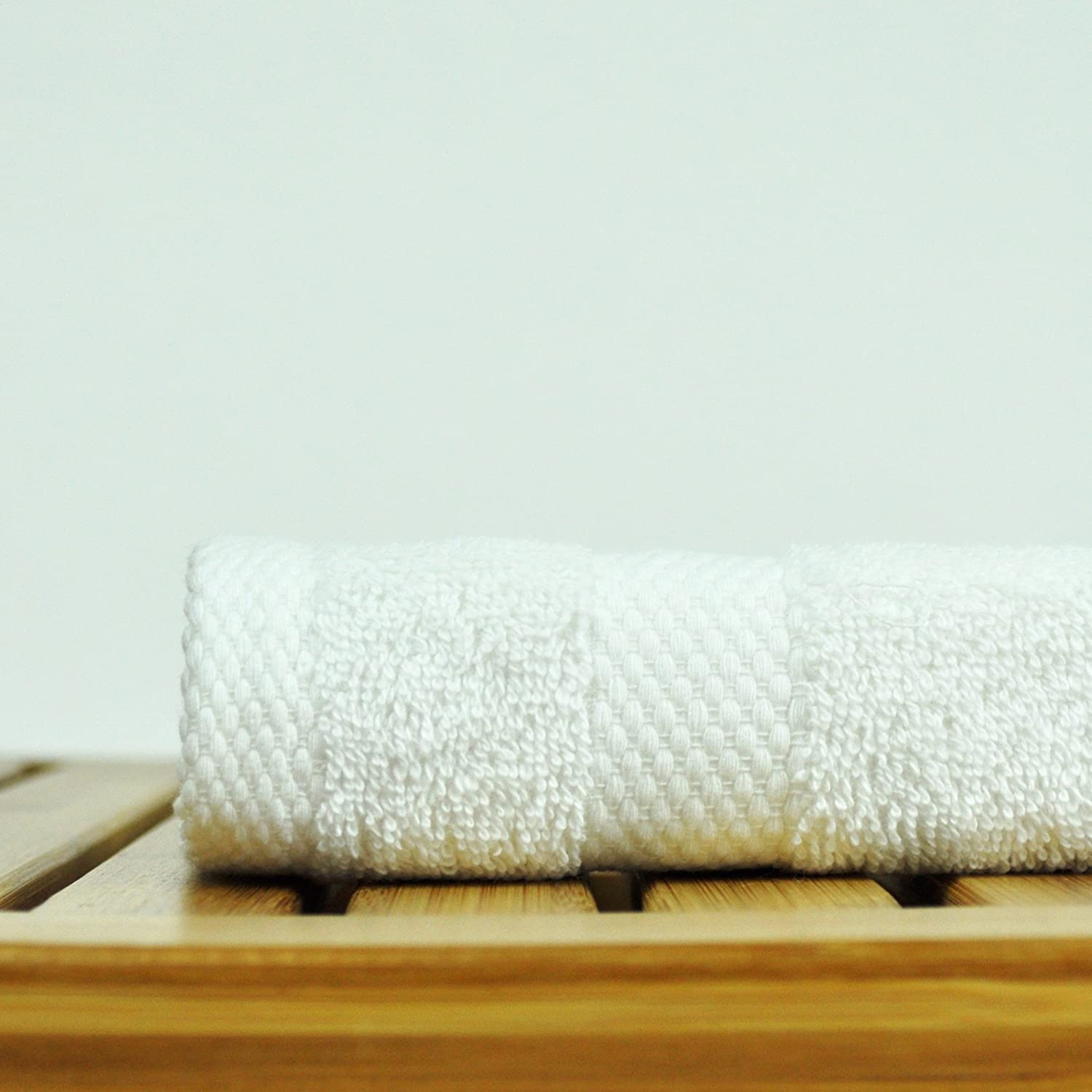 Honeycomb White, Bath Towel - Set of 4 Luxury Hotel /& Spa Towel 100/% Genuine Turkish Cotton