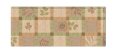 Amazon.com: Parklon Kitchen Floor Mat Green Leaves (Large ...