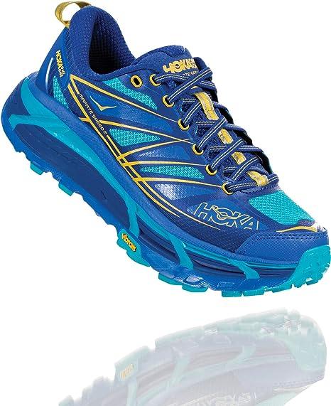 Hoka - Zapatillas de Running Mafate Speed 2 para Mujer, Color Azul, Talla 40: Amazon.es: Deportes y aire libre