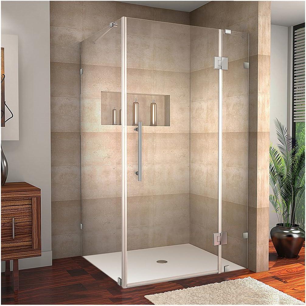 Aston Avalux - Mampara de ducha sin marco Avalux: Amazon.es: Bricolaje y herramientas