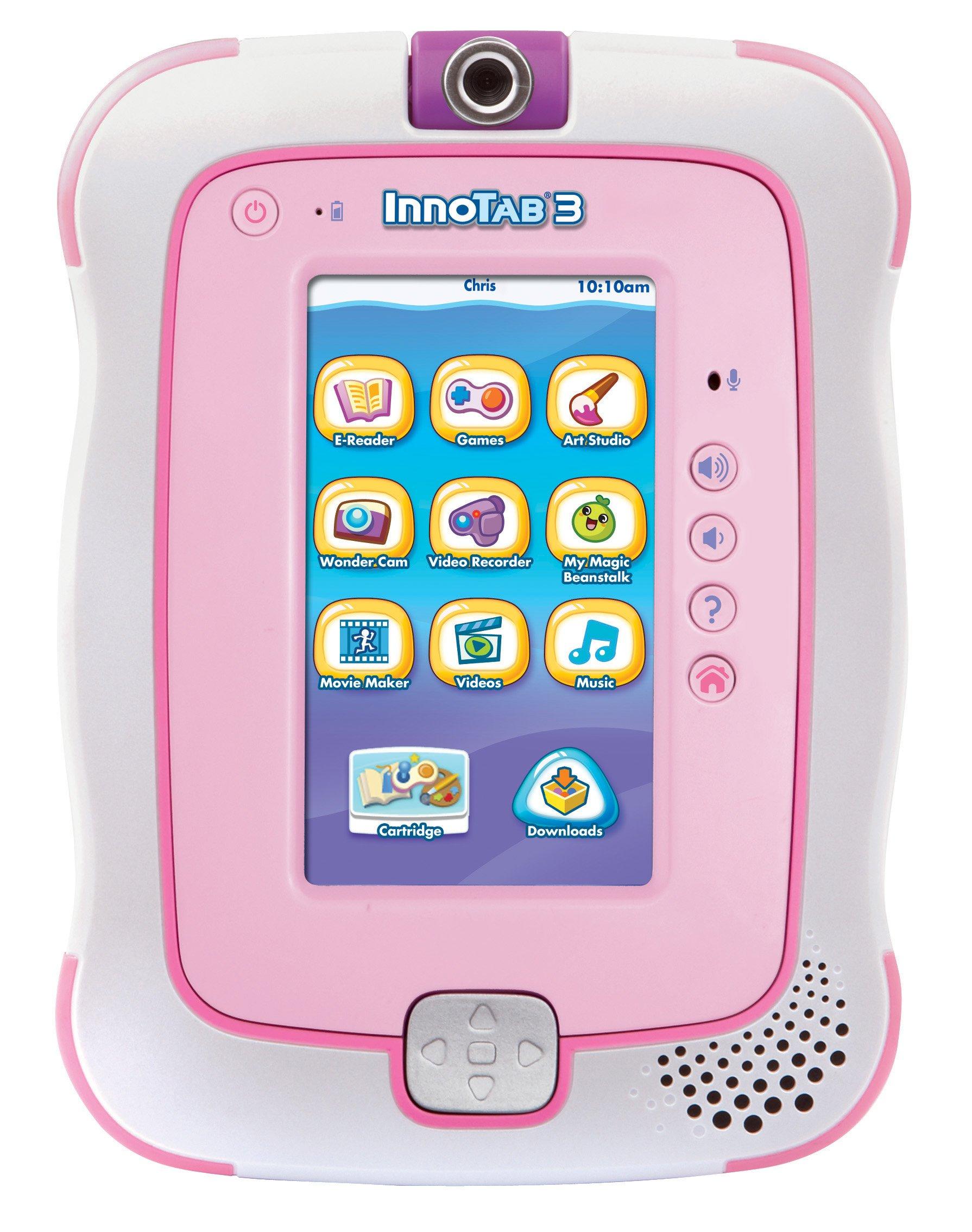 VTech InnoTab 3 Plus Kids Tablet, Pink by VTech (Image #1)