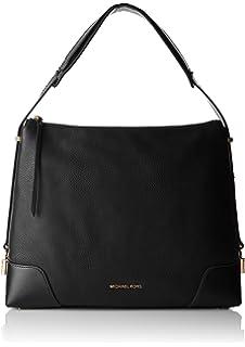 bd2028baf47661 Michael Kors Crosby Large Logo Shoulder Bag BRN/ACORN: Handbags ...