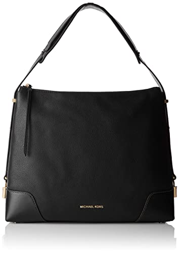 f076d6174dcc Michael Kors Womens Crosby Shoulder Bag Black (Black)  Handbags ...
