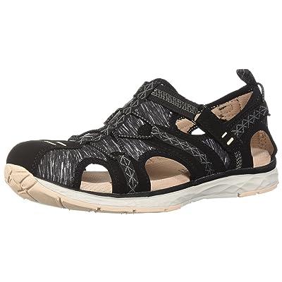 Dr. Scholl's Shoes Women's Archie Sport Sandal, Black Nubuck, 9.5 M US | Sport Sandals & Slides