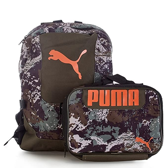 0721f21fd244 PUMA Boys Color Block Backpack  amp  Lunch Bag Set  Amazon.ca  Clothing    Accessories