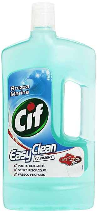 22 opinioni per Cif- Detergente , Easy Clean Pavimenti, Con Lift-Action, Brezza Marina- 1000 Ml