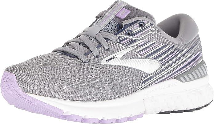 Brooks Adrenaline GTS 19 Sneakers Laufschuhe Damen Grau/Lavendel