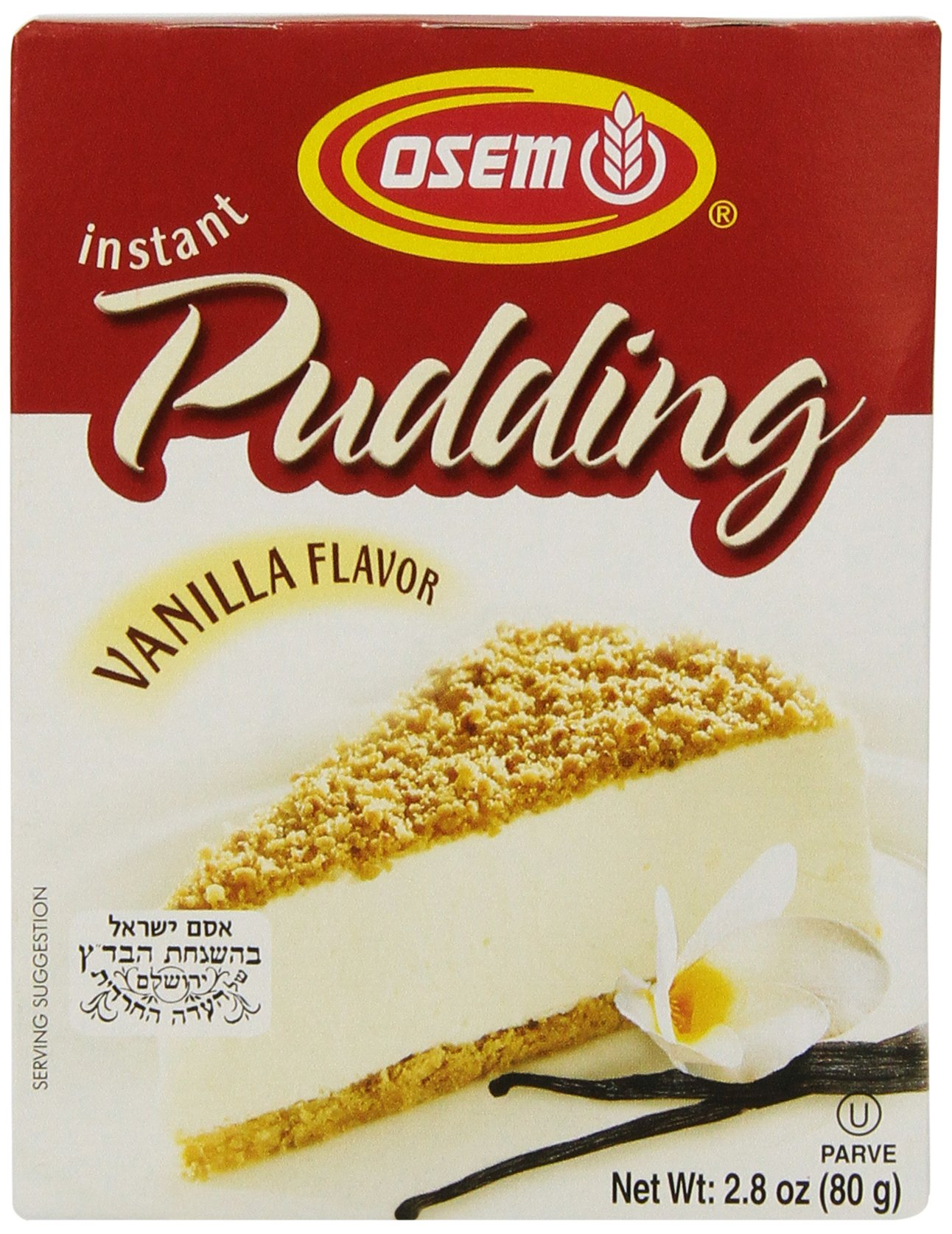 Osem Israeli Vanilla Instant Pudding Mix,2.8000-ounces (Pack of12)