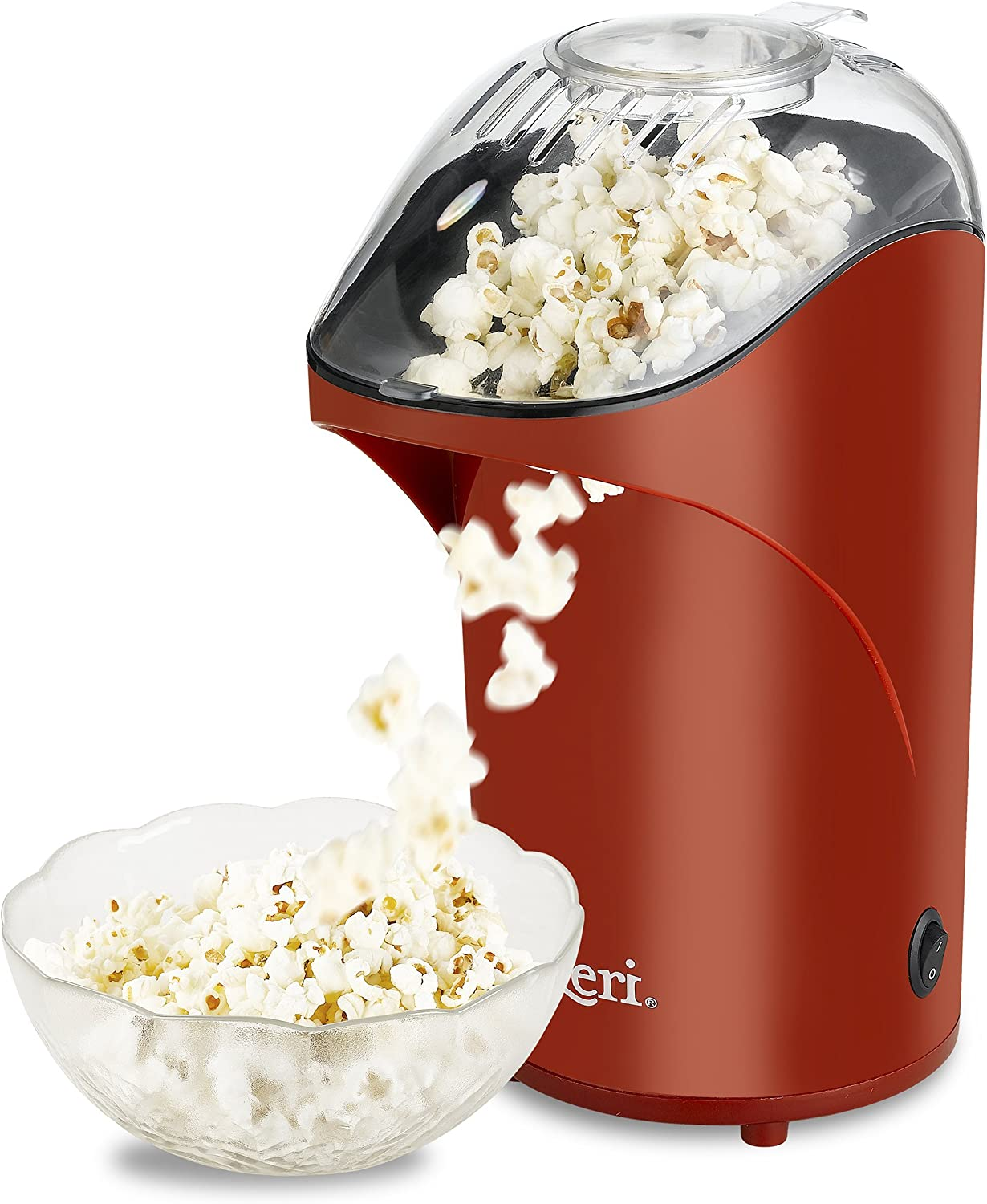 Electric Popcorn Maker Household Automatic Popcorn Machine Air Blowing Popper BG