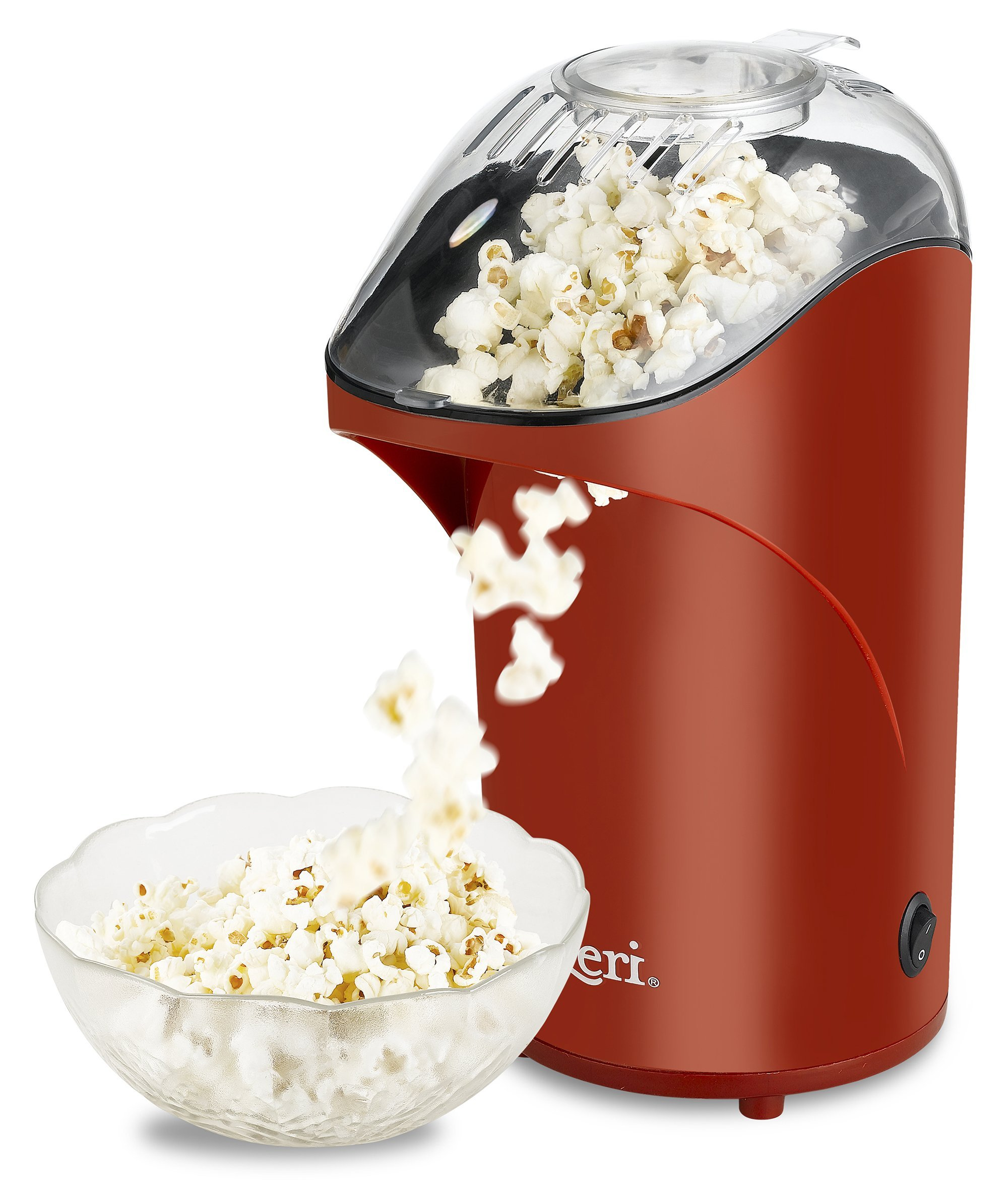 Ozeri OZP1-R2 Movietime II 26 Cup Healthy Popcorn Maker, One Size, Red