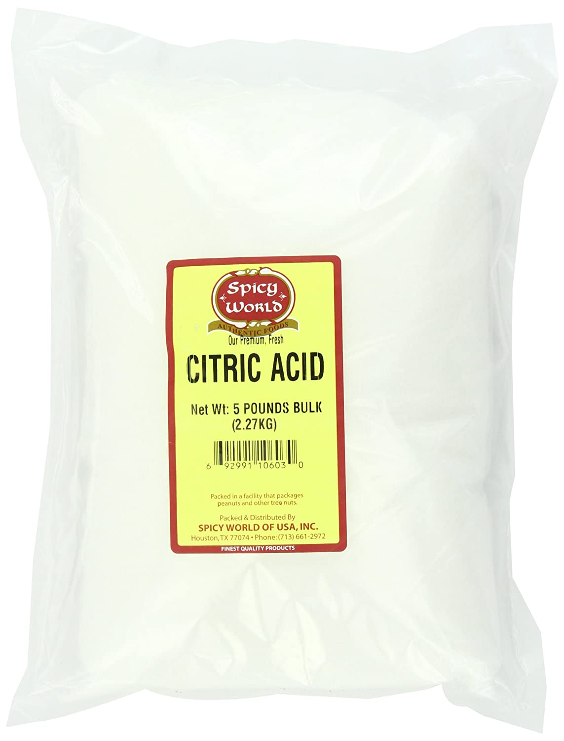 citric acid baby food