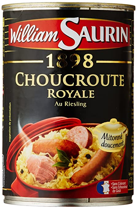 William Saurin Choucroute Royale Riesling 400g