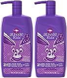 Aussie Kids G'Day Grape 3 n 1 Shampoo + Conditioner + Body Wash, Grape Soda, 29.2 oz, 2 pack