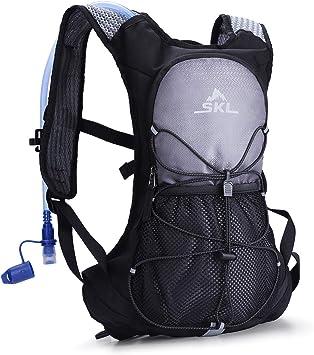 SKL Mochila de hidratación, paquete de hidratación con bolsa ...