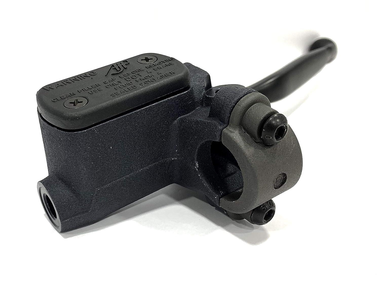 BRAKTEC AJP - Bomba de freno Delantera salida lateral Caudal 11 mm.: Amazon.es: Coche y moto