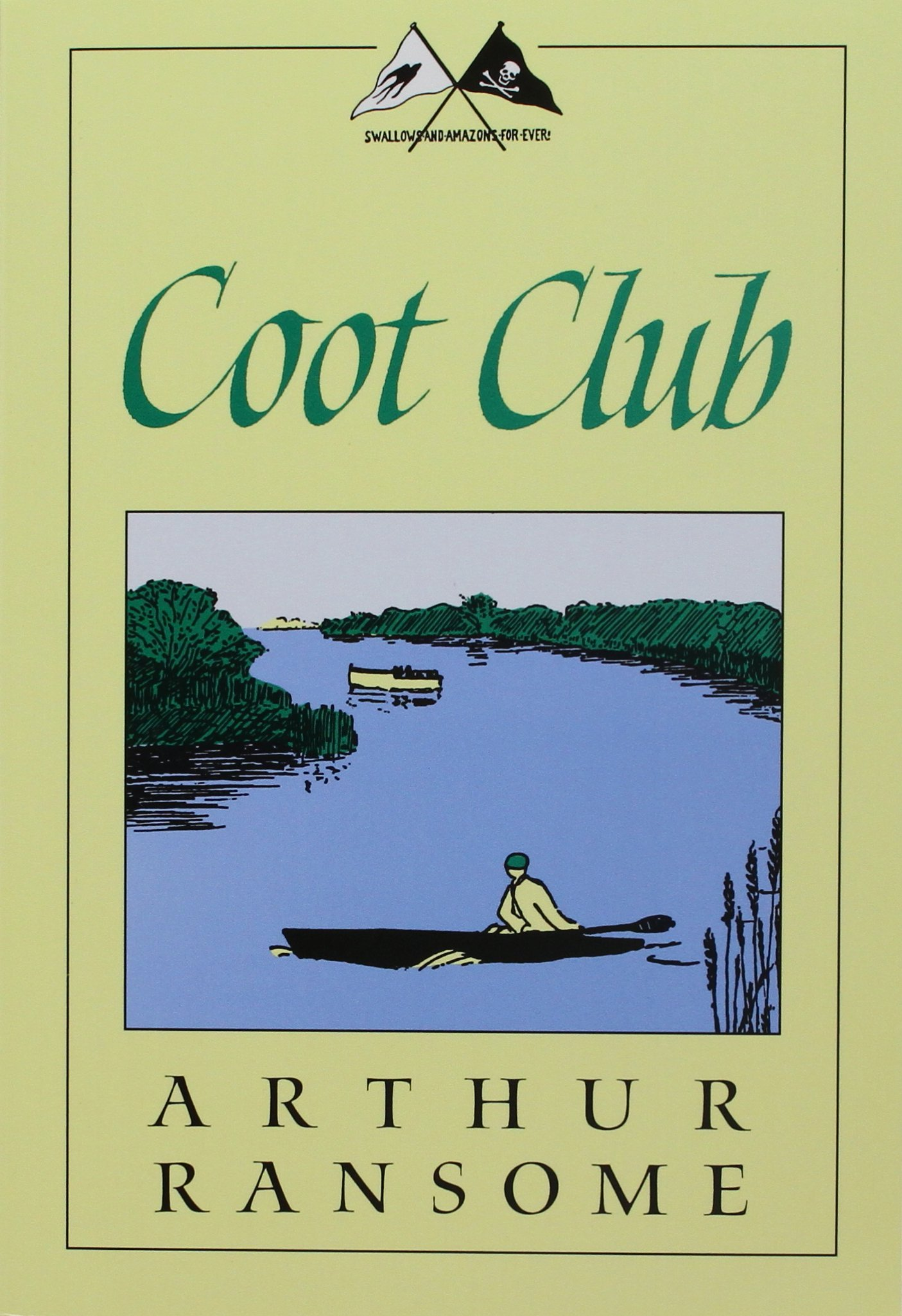 Coot Swallows Amazons Arthur Ransome