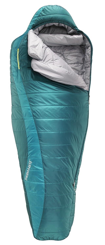 Therm-A-Rest Capella de la Mujer Saco de Dormir, Mujer, Spruce: Amazon.es: Deportes y aire libre