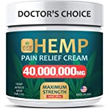 Pain Relief Cream - Maximum Strength 40,000,000 MG - Fast Relief from Pain, Ache, Arthritis & Inflammation - Made & 3rd Party
