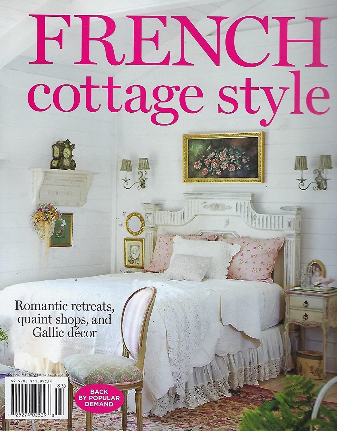 Pleasing Amazon Com French Cottage Style Spring 2018 Magazine Bed Interior Design Ideas Grebswwsoteloinfo