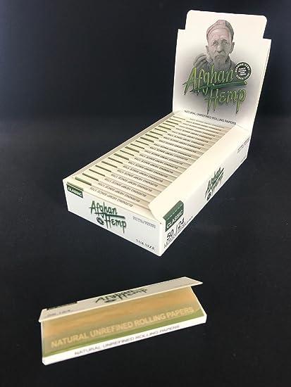 All natural Afghan Hemp rolling paper (1 1/4)