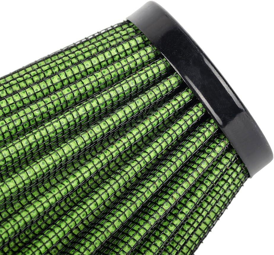 B Blesiya Filtro Aria 24-48mm Accessorio Sostituazione Per Moto Arancia