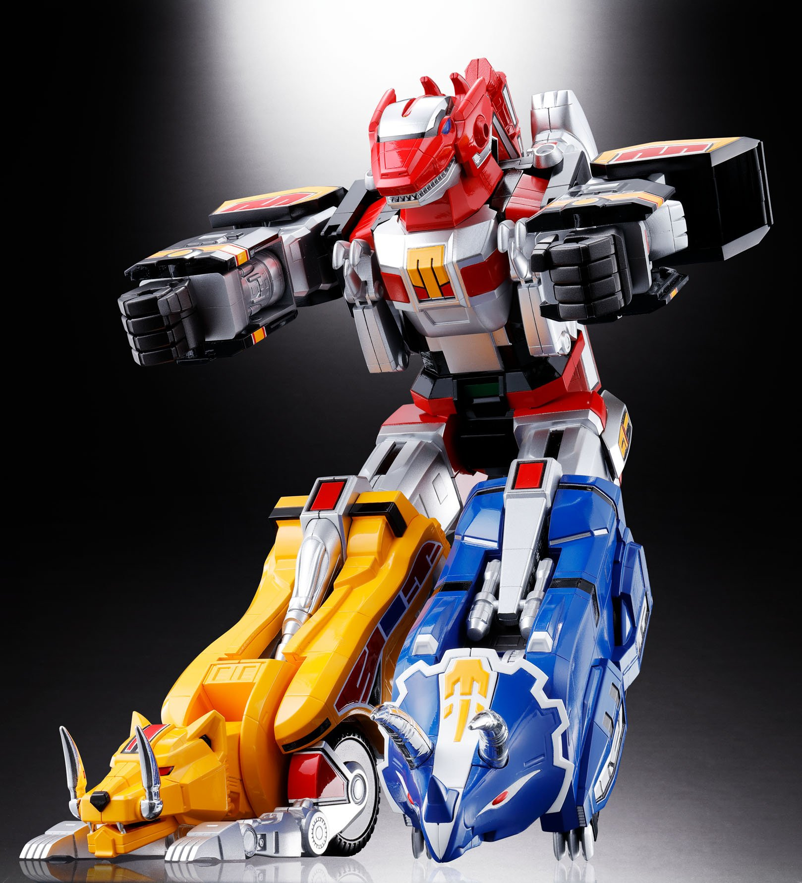 Bandai Tamashii Nations Soul of Chogokin Mighty Morphing Power Rangers Action Figure by Bandai (Image #17)