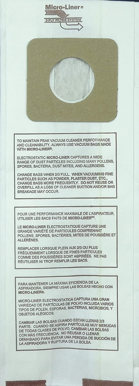 U3 20 Panasonic Type U 20 Pack. U6 DVC Micro-Lined Made Vacuum Bags