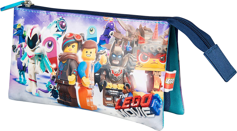 Sambro 6299 Lego - Estuche con 3 Bolsillos, Multicolor: Amazon.es: Juguetes y juegos