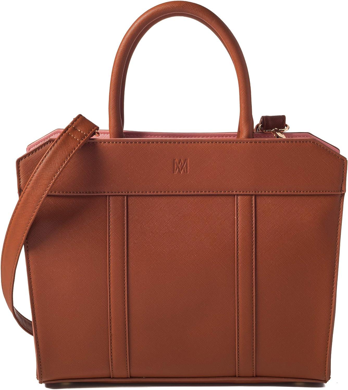 Marsi Bond Vegan Saffiano Stylish Tote Fashionable Faux leather Shoulder Bag